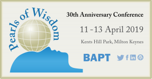 Pearls of Wisdom, BAPT 30th Anniversary Conference (media)